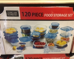 120 Pc Food Storage Set