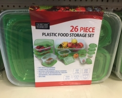 26 Pc Food Storage Set