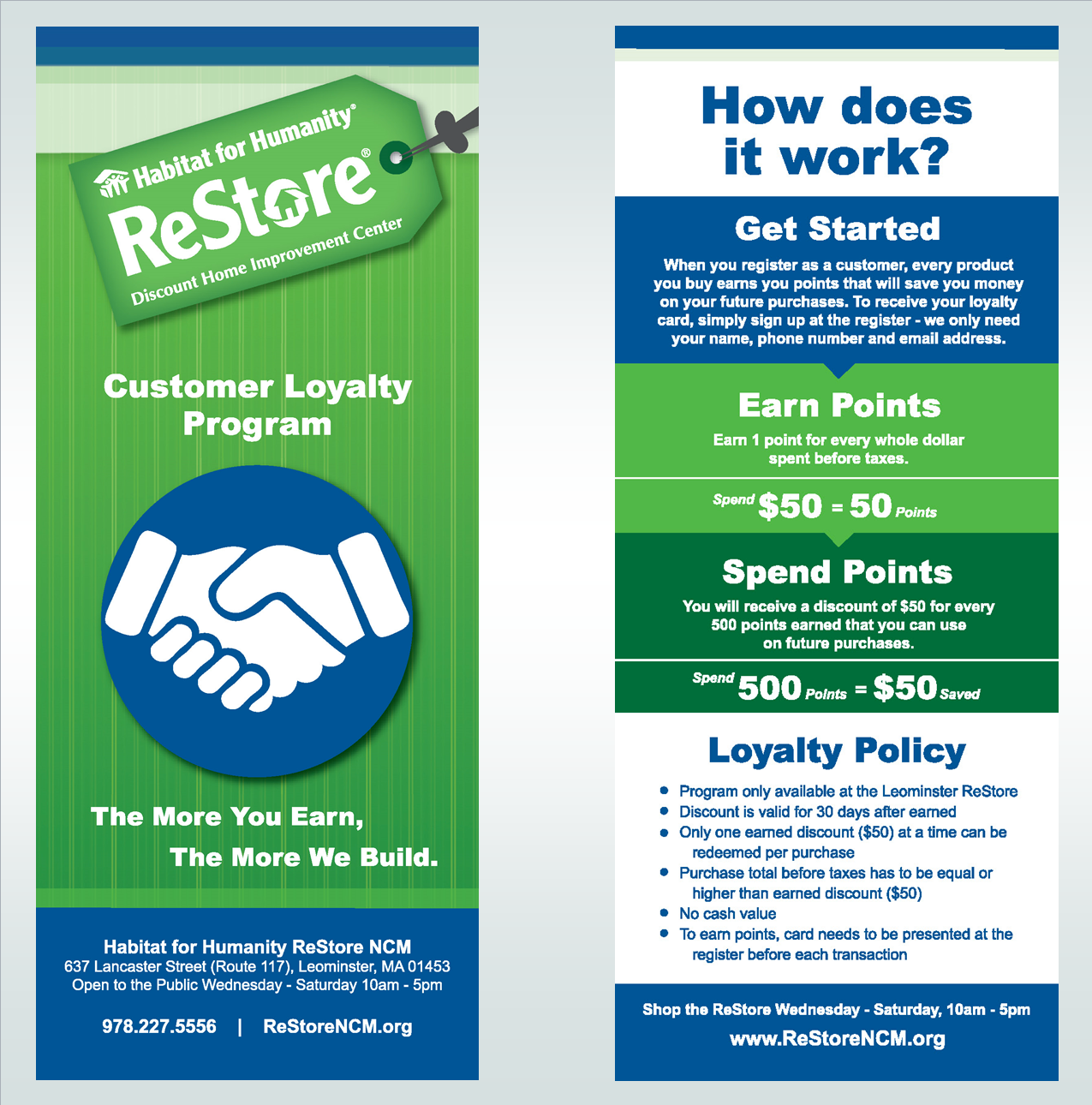 Customer Loyalty Program_Website